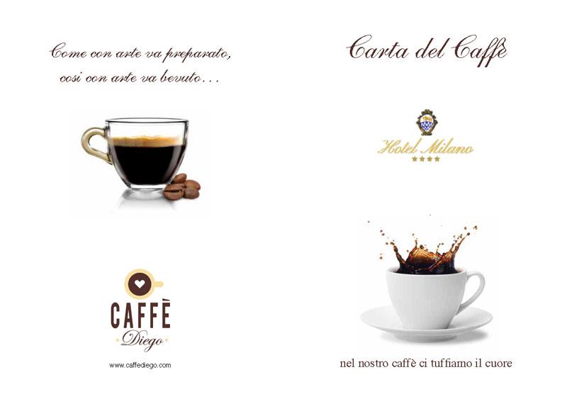 carta caffè Hotel Milano