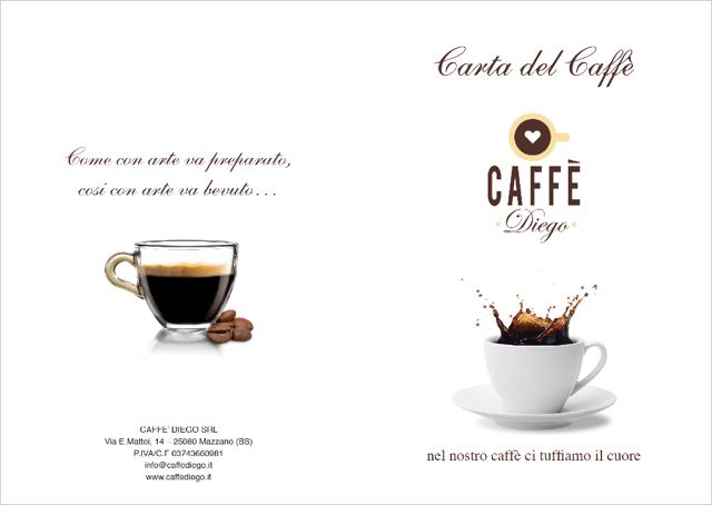 carta del caffe